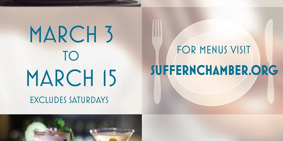 Suffern Restaurant Week 2019!