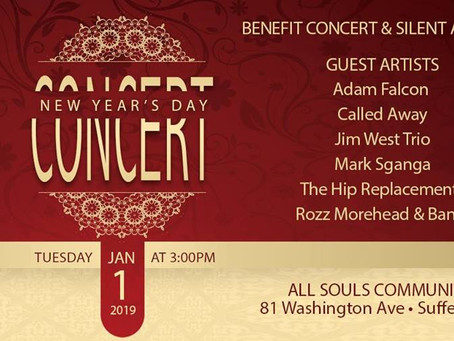 A Concert for Community: All Souls 1st Benefit Concert & Silent Auction!