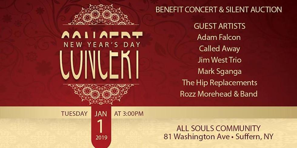 Benefit Concert & Silent Auction!