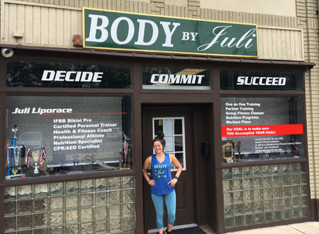 Body by Juli joins the Suffern Chamber!