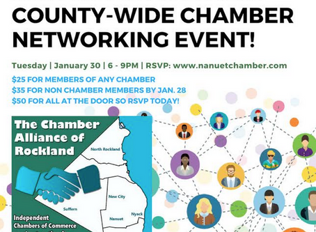 Joint Chamber Alliance of Rockland Networking Event!