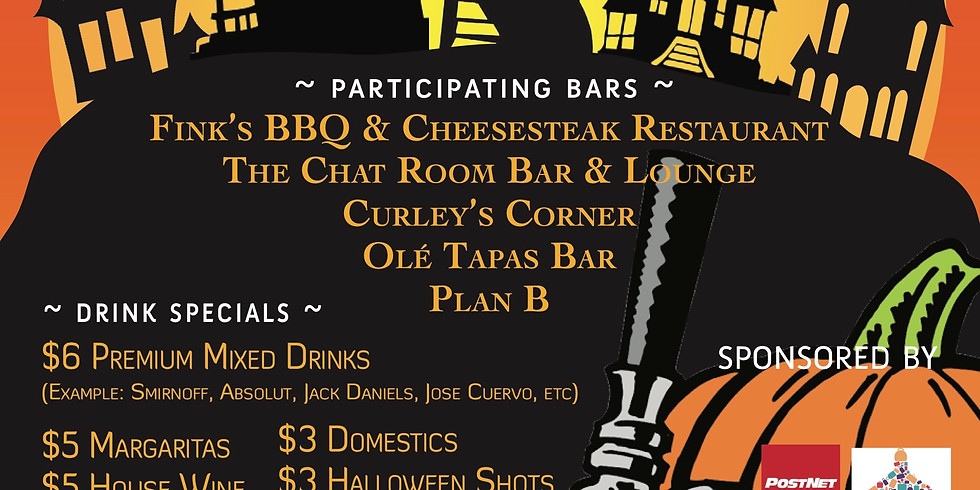 Suffern Chamber's Crawloween Bar Crawl 2019!
