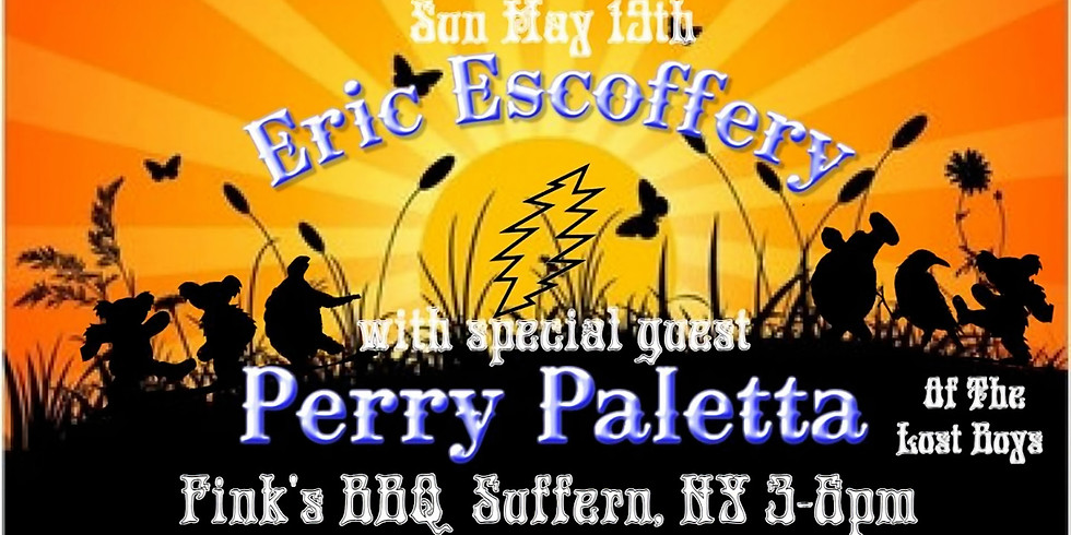 Eric Escoffrey w/ Perry Paletta at Fink's!