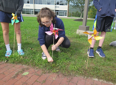 SCSD Pinwheels for Peace!