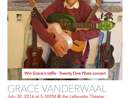 Grace VanderWaal Free Concert at the Historical Lafayette Theater!