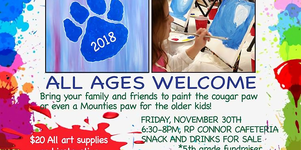 Paw Painting Party Fundraiser