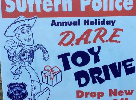 Suffern PD DARE Annual Toy Drive!