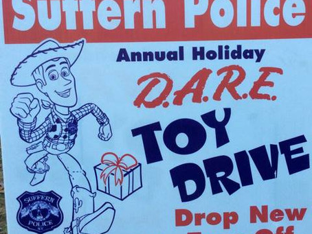 Suffern PD DARE Annual Toy Drive!