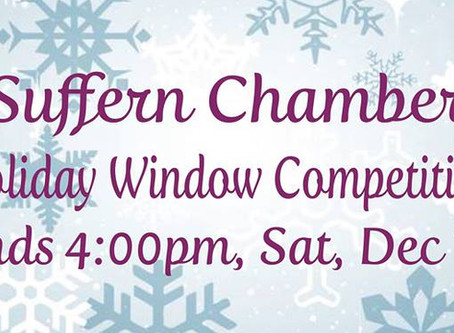 Suffern Chamber 2018 Holiday Window Competition!
