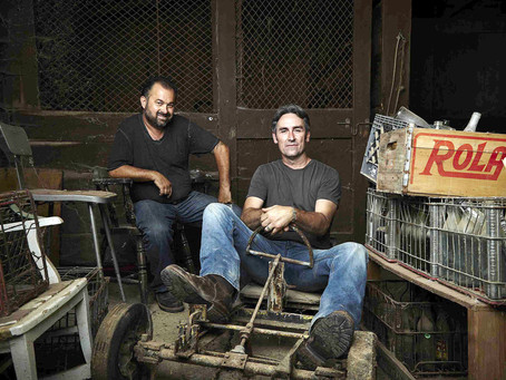 History Channel's American Pickers looking to Suffern.