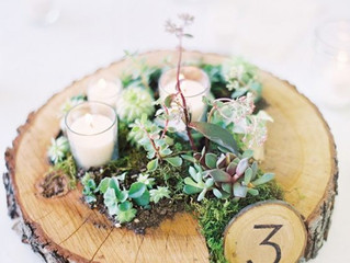 Wedding Wednesday: Unique Table Numbers
