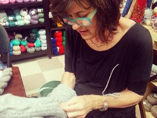 Featured Knitter: Elizabeth Skedas