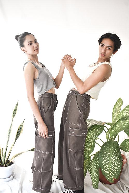 Dark Brown Devon Jeans