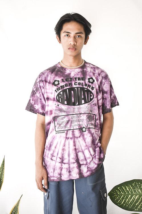 Dark Violet Spectrum Tie Dye