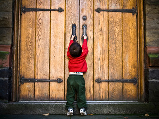 Being Thankful for Closed Doors
