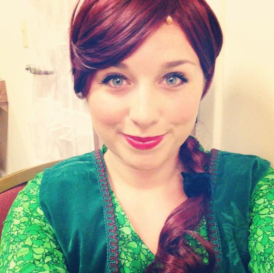 Teen Fiona- Shrek
