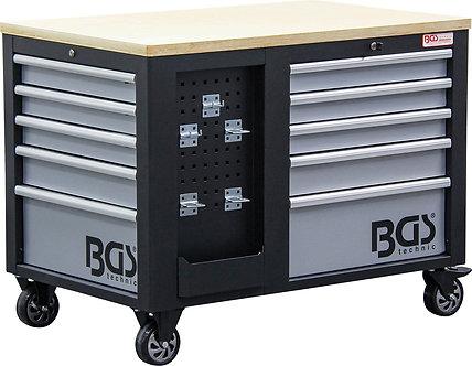 BGS 4199 Werkstattwagen | 2 x 5 Schubladen | 1 Schrank | leer
