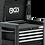 Thumbnail: BGS 4112 Werkstattwagen-Aufsatz für Werkstattwagen PROFI | 4 Schubladen | leer