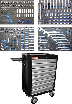 BGS 4090 Werkstattwagen | 8 Schubladen | mit 293 Werkzeugen