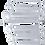 Thumbnail: BGS 1196 Maul-Ringschlüssel-Satz | SW 6 - 32 mm | 25-tlg.