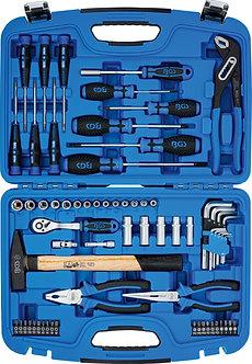 BGS 2217 Steckschlüssel-Werkzeugkoffer   67-tlg.