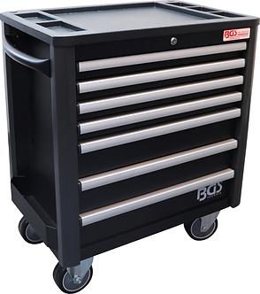 BGS 4102 Werkstattwagen | 7 Schubladen | extra geringe Bauhöhe | leer