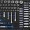 Thumbnail: BGS 4090 Werkstattwagen | 8 Schubladen | mit 293 Werkzeugen