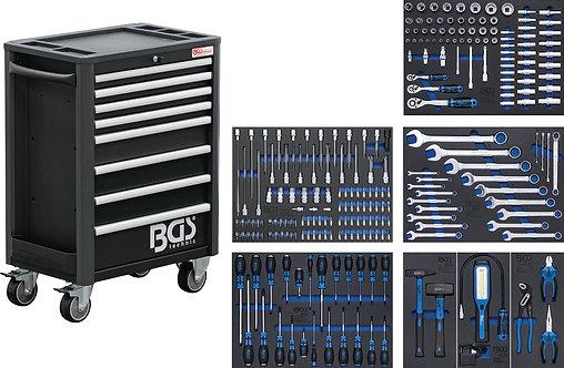 BGS 4113 Werkstattwagen Profi Standard | 8 Schubladen | mit 234 Werkzeugen