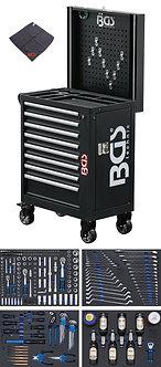 BGS 4106 Werkstattwagen | 8 Schubladen | mit 263 Werkzeugen