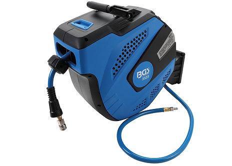BGS 3323 Druckluftschlauch mit Aufroller | automatisch | 12 m + 2 m