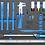 Thumbnail: BGS 4114 Werkstattwagen Profi Exclusive | 8 Schubladen | mit 259 Werkzeugen