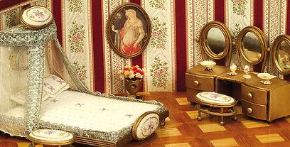 חדר שינה מיניאטורי