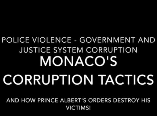 Prince Albert of Monaco destroys innocent truth tellers: Abuse list # 1