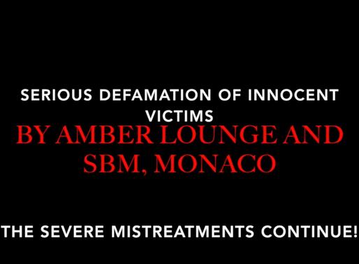 SBM Monaco threatens journalist Anett-Patrice van York!
