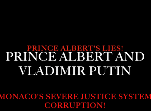 Prince Albert of Monaco's severe lies and his close friendship with Vladimir Putin!