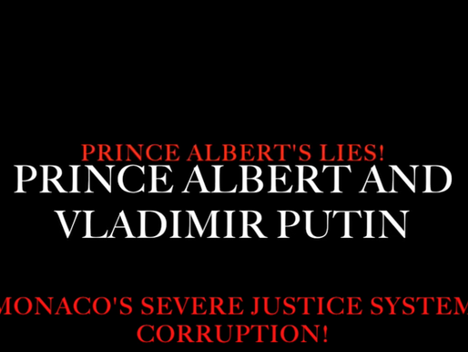 Prince Albert of Monaco's severe lies and his close friendship with Vladimir Putin