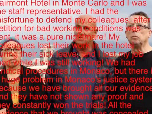 Monaco's severe justice system corruption
