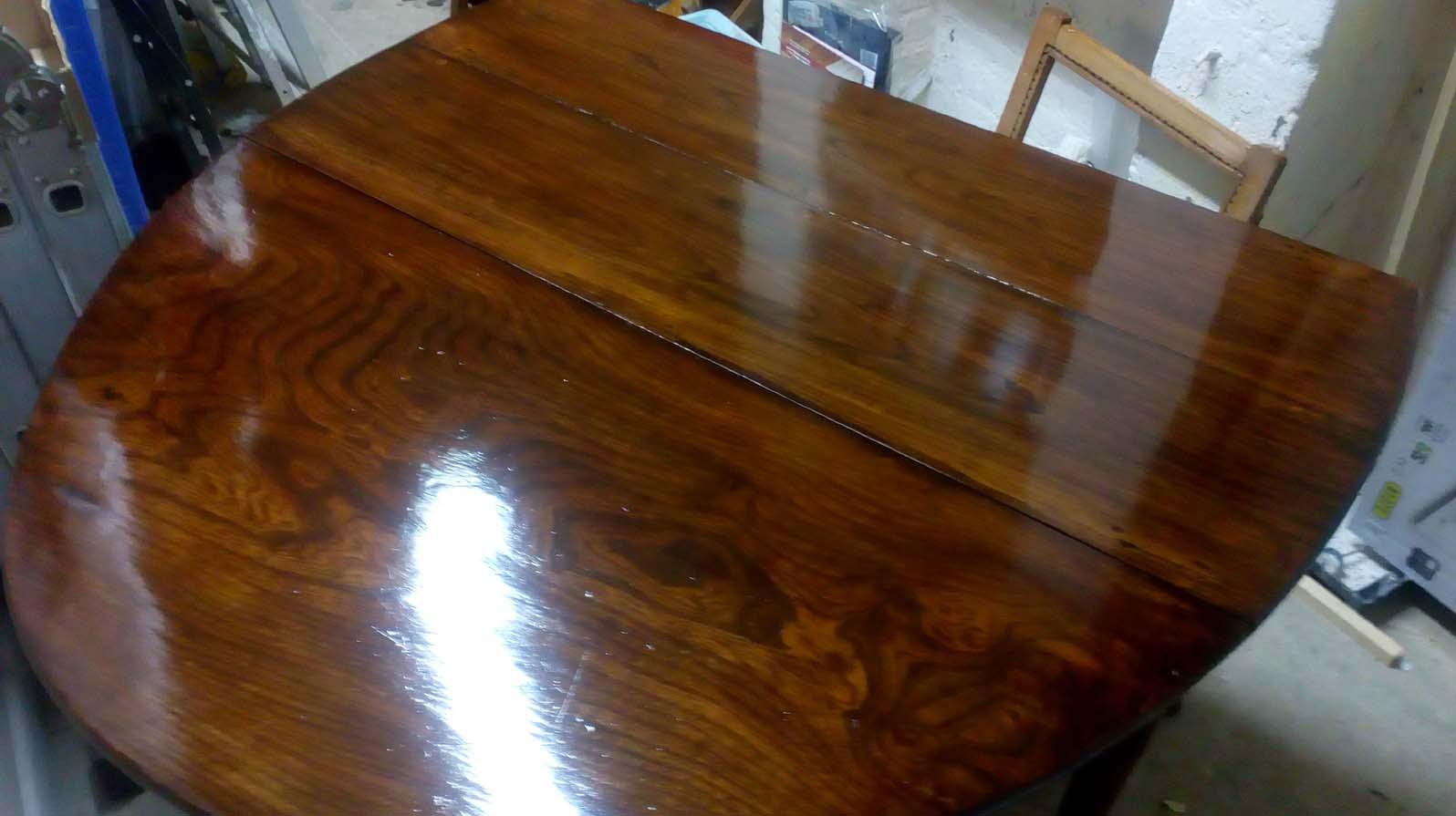Restored Georgian Drop leaf table