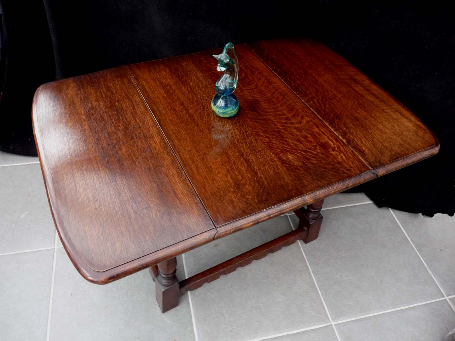 Small Dop Leaf Table Mid 20th Century
