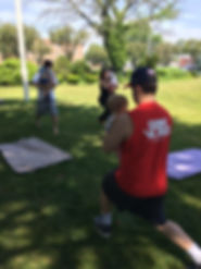 Baby and me workout classes on Long Island. BabyWeights workout class.