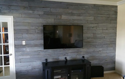 Grey Washed Pallet Wall