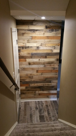Rustic Pallet Wall