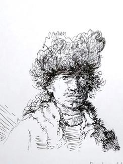 studie Rembrandt