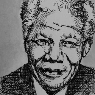 Nelson Mandela - te koop 50,-