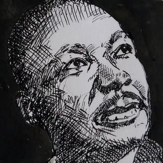 Martin Luther King - te koop 50,-