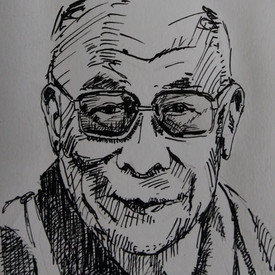 Dalai Lama - te koop 50,-