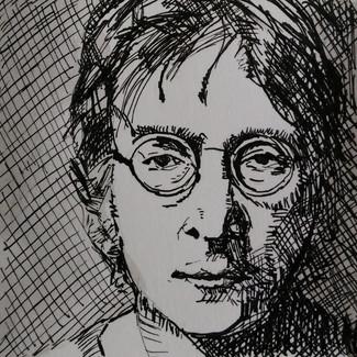 John Lennon - te koop 50,-