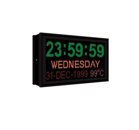 นาฬิกาดิจิตอล LED (Digital Clock) - Full Color LED