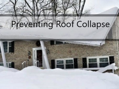 Tips on Preventing Roof Collapse
