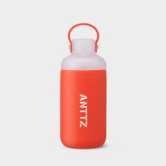 ANTTZ DOUBLE CAP WATER BOTTLE_RED_600ml
